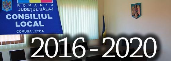 Cons local 2016 - 2020